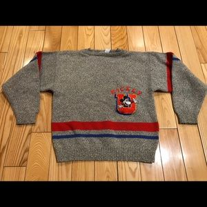 Vintage 80's Mickey Mouse sweater youth 14